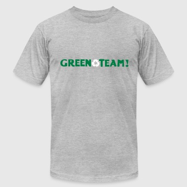 Green Team Green Team Vector - Men's Fine Jersey T-Shirt