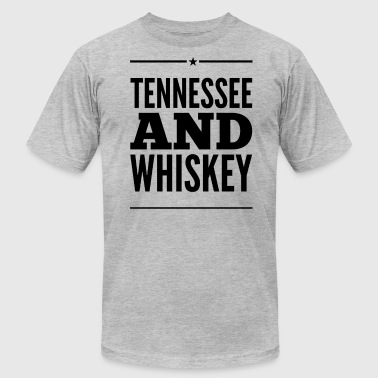 Tennessee Whiskey Tennessee and Whiskey - Men's Fine Jersey T-Shirt