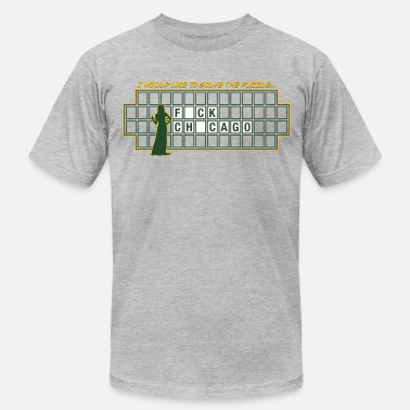 Wheel Of Fortune FUCK CHICAGO - Men's  Jersey T-Shirt