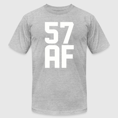 57 Years 57 AF Years Old - Men's Fine Jersey T-Shirt