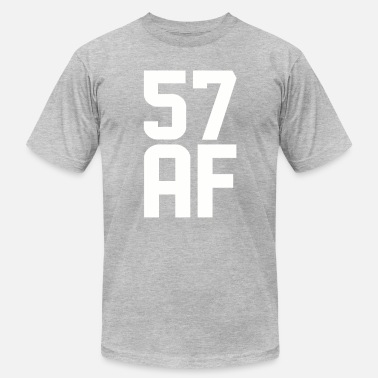 57 Years Old 57 AF Years Old - Men's Fine Jersey T-Shirt