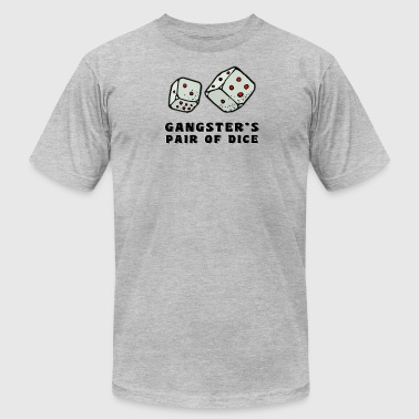 Gangester's Pair Of Dice - Men's Fine Jersey T-Shirt