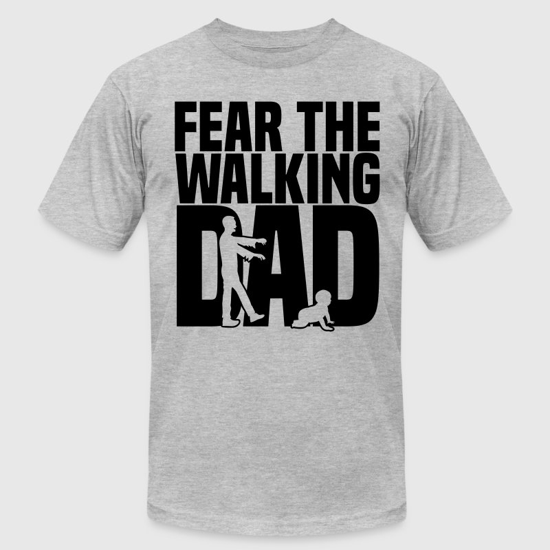 fear the walking dad - Men's Fine Jersey T-Shirt