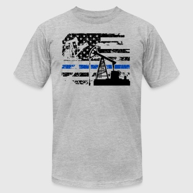 Oilfield Flag Oilfield Flag Shirt - Men's Fine Jersey T-Shirt