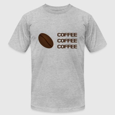 Coffee Coffein Morning Bean Coffeebean Present - Men's Fine Jersey T-Shirt