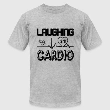 Laughing Is My Cardio Comedian Laughing Is My Cardio Shirt - Men's Fine Jersey T-Shirt