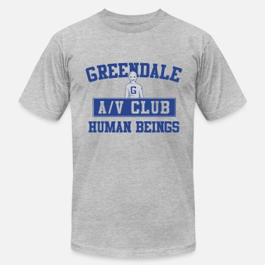 Human Club Greendale AV Club - Men's Fine Jersey T-Shirt