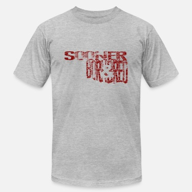 Ou Sooner Born & Bred - Men's  Jersey T-Shirt