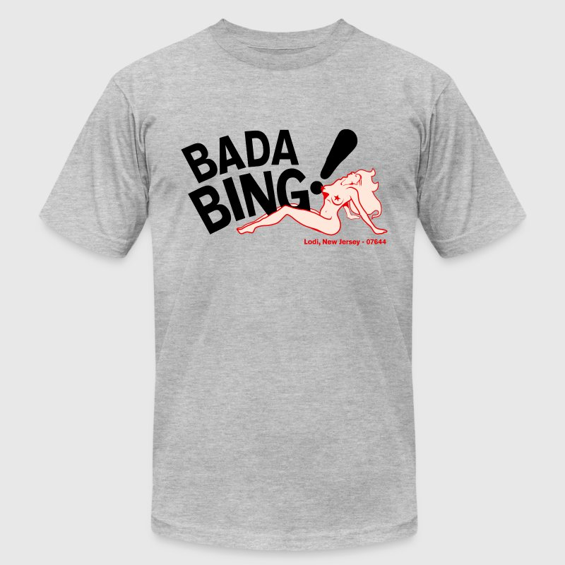 Bada Bing - Men's Fine Jersey T-Shirt