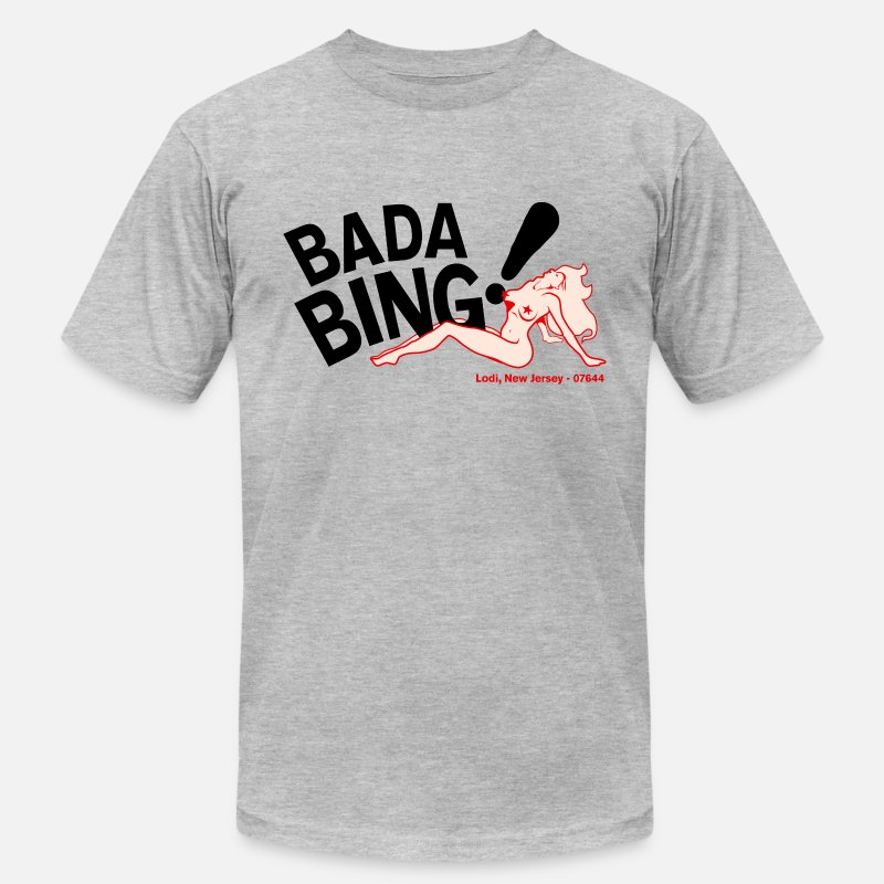 Bada  Bing T-Shirts - Bada Bing - Men's Jersey T-Shirt heather gray