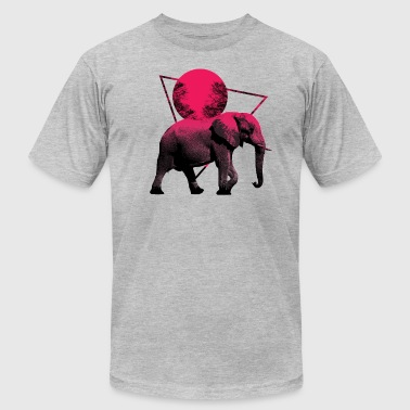 Elephant Moon Walk Shirts & Gifts - Men's Fine Jersey T-Shirt