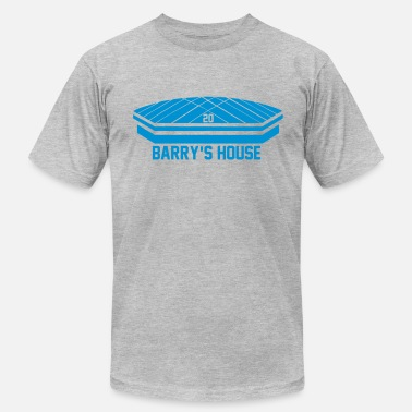 Barry Sanders Barry's House - Men's  Jersey T-Shirt