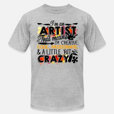 Cool And Creative I'm A Creative And Cool Artist - Men's Fine Jersey T-Shirt