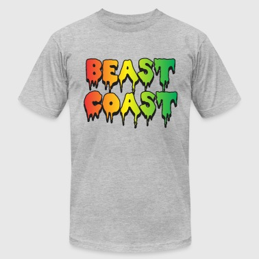 Beast Coast - Men's Fine Jersey T-Shirt