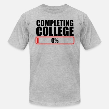 Ivy League COMPLETING COLLEGE zero 0 % percent - Men's Jersey T-Shirt