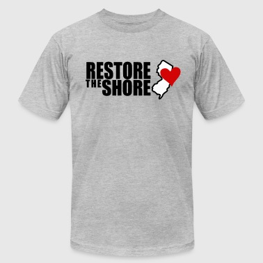 Restore The Shore RESTORE THE SHORE - Men's Fine Jersey T-Shirt