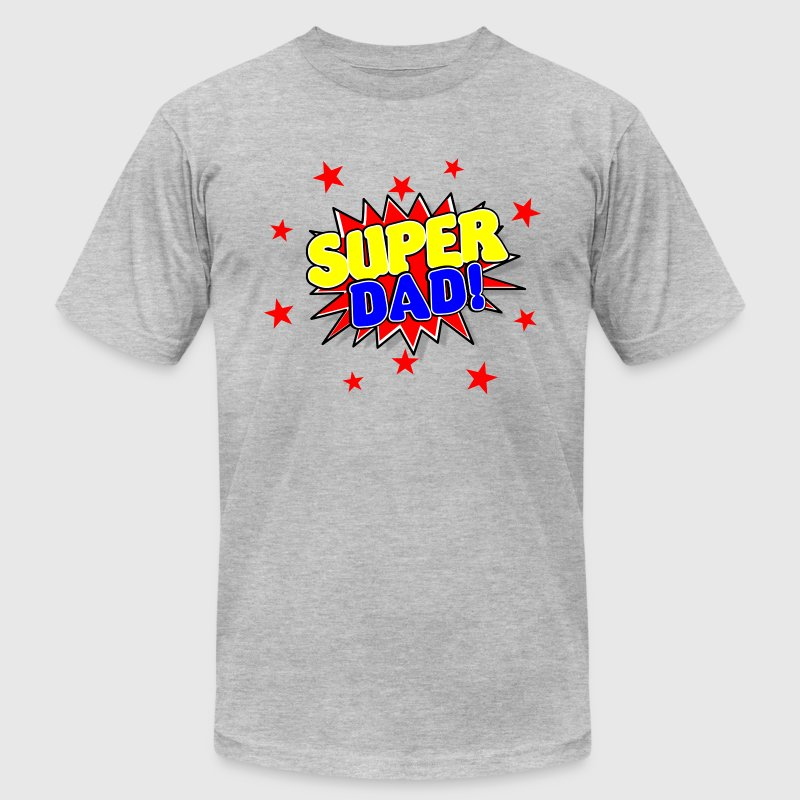 Super Dad Father's Day - Men's Fine Jersey T-Shirt