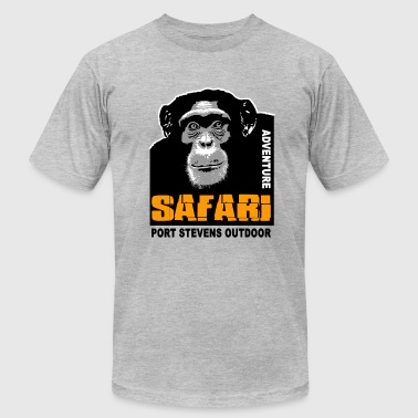 chimpanzee - Safari - Men's Fine Jersey T-Shirt