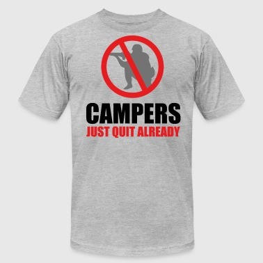 Campers - Men's Fine Jersey T-Shirt