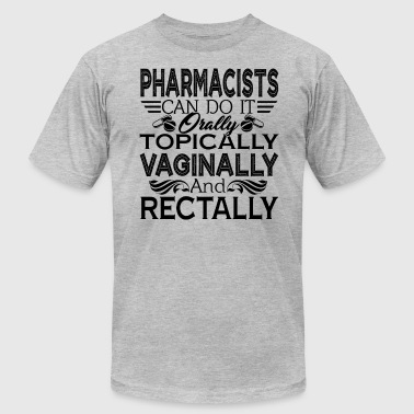 Pharmacist Can Do It Shirt - Men's Fine Jersey T-Shirt