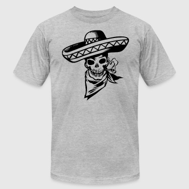 Mexican Skull - Men's Fine Jersey T-Shirt