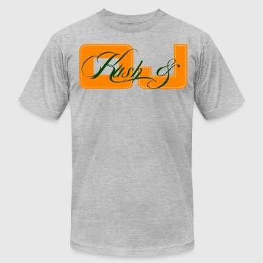 Chevy Woods Kush & OJ - Men's Fine Jersey T-Shirt