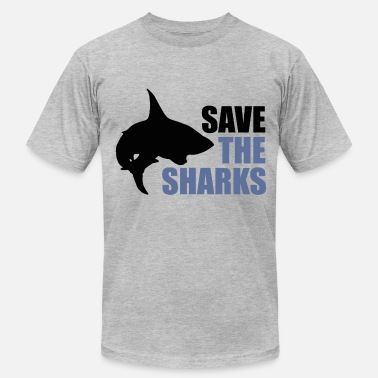 Save The Sharks Save the sharks - Men's Fine Jersey T-Shirt