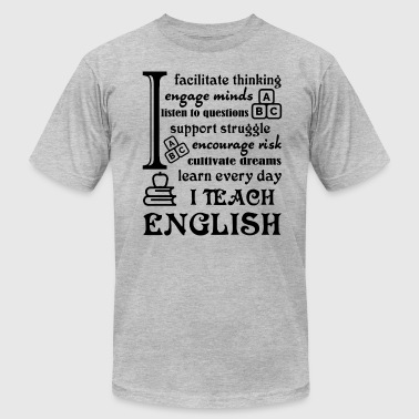 English Teacher Shirt - Men's Fine Jersey T-Shirt