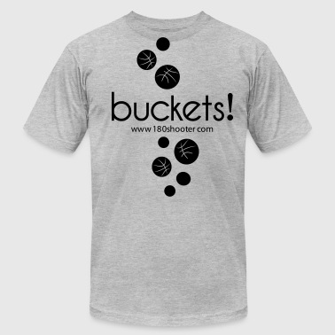 Youth Basketball Raining Buckets - Men's Fine Jersey T-Shirt