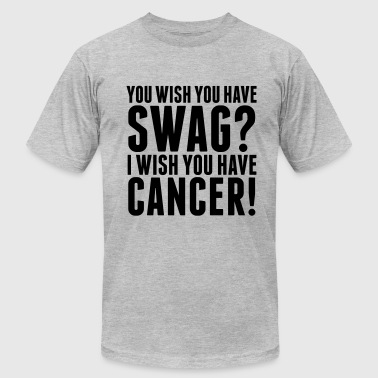 Fuck Cancer Swag SWAG - Men's Fine Jersey T-Shirt
