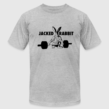 Jack Rabbit Jacked Rabbit - Men's Fine Jersey T-Shirt