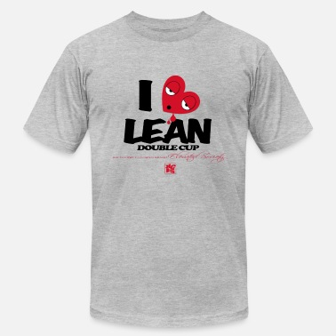 I Love Lean I Love Lean - Men's Fine Jersey T-Shirt