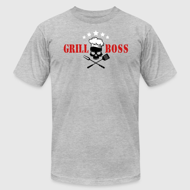 grill boss - Men's Fine Jersey T-Shirt