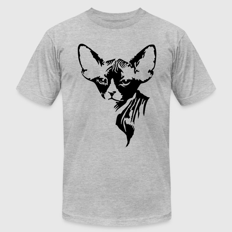 The sphynx cat - Men's Fine Jersey T-Shirt