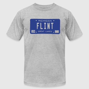 Flint License - Men's Fine Jersey T-Shirt