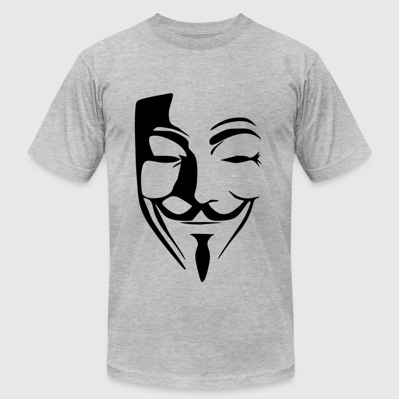 anonymous - Men's Fine Jersey T-Shirt