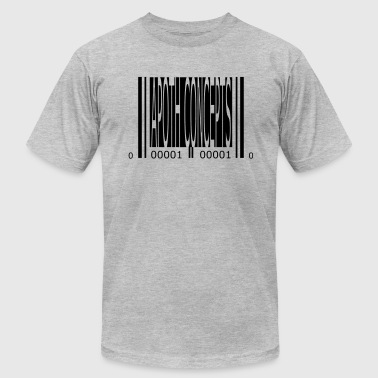 Apoth Concepts Apoth Concepts 2 barcode (vector) - Men's Fine Jersey T-Shirt