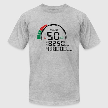 meter 50 years anniversary - Men's Fine Jersey T-Shirt