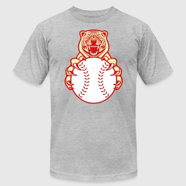 Baseball Tiger - Men's Fine Jersey T-Shirt