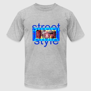 STREET STYLE PICTURE - Men's Fine Jersey T-Shirt