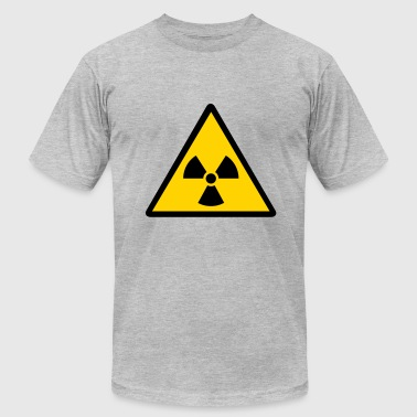 Nuclear Waste nuclear warning - Men's Fine Jersey T-Shirt