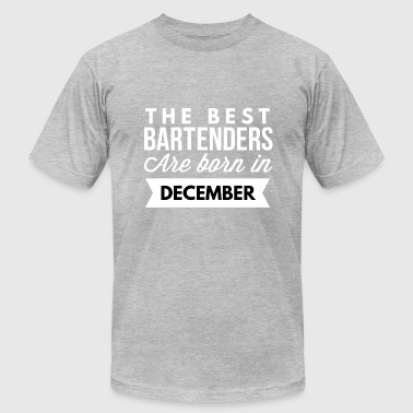 Bartenders Birth Month The best Bartenders are born in December - Men's Fine Jersey T-Shirt