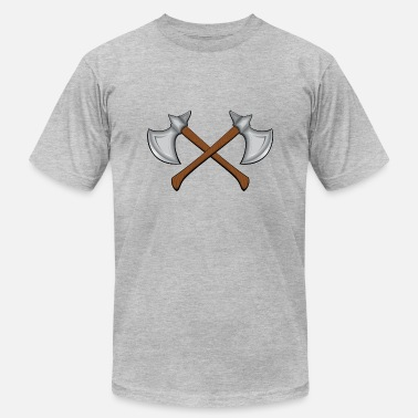 Battle Axe Warriors Axes - Men's Fine Jersey T-Shirt