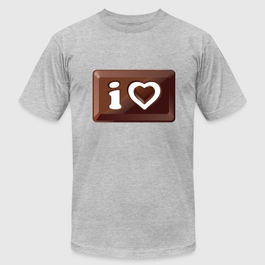 I Love This Bar I Love Brown Bars - Men's Fine Jersey T-Shirt