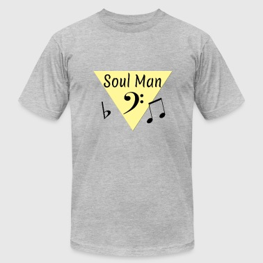 Soul Man Oldies Song Titles - Men's Fine Jersey T-Shirt