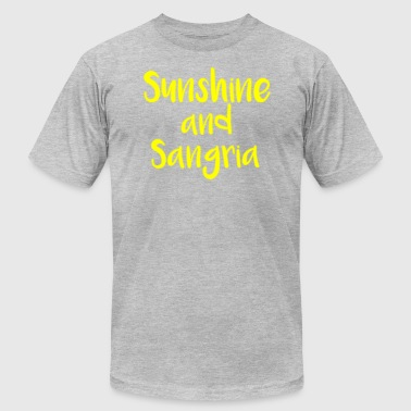 Sunshine and Sangria - Men's Fine Jersey T-Shirt