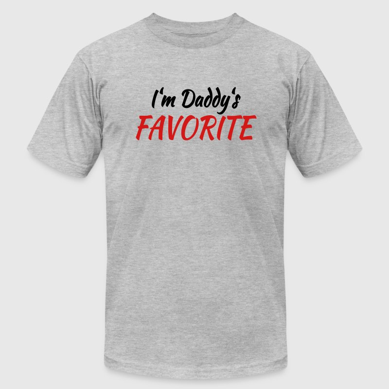 I'm daddy's favorite - Men's Fine Jersey T-Shirt