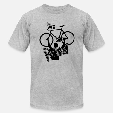 Wii less wii more whee - Men's  Jersey T-Shirt