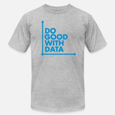68587a22e8a7 Geek Do Good With Data Line Graph - Men's Jersey T-
