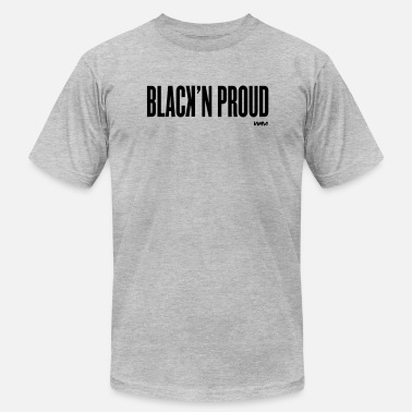 Black Panther Party black and proud by wam - Men's  Jersey T-Shirt